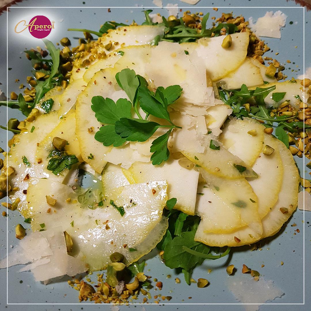 Carpaccio aus Cedro-Zitronen